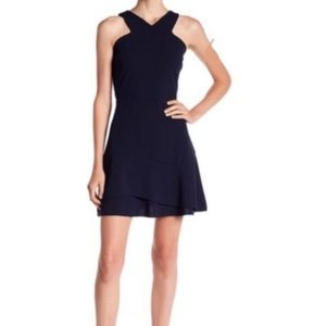 NWT Love Ady ruffle fit and flare dress